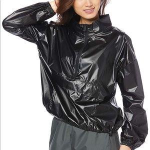 UNDER ARMOUR Metallic Woven Pullover Anorak L